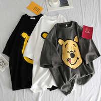 Sommer 2019 casual Frauen T-shirts Ulzzang Streetwear kawaii cartoon print T-shirt Korean Stil Tops Harajuku kurzarm t hemd