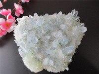 Уникальный природный зеленый кристалл кластера скелетного кварца ТОЧКА палочка минеральное целебное Кристалл Druse Vug образец натуральный к