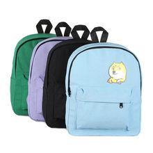 07e66b0a9059 Пёс из мультфильма печати рюкзак Для женщин милый холст рюкзак студенты  ноутбук рюкзак школьные сумки для