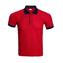 f8b0b7d1071f 100% Polyester Polo Shirt For Men Casual Short Sleeve Shirts Camisa Polo  Masculina Breathable Mens