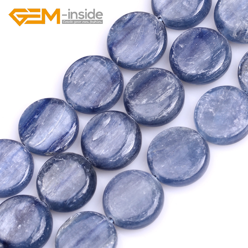 12mm 14mm 16mm Coin Shape Natural Kyanite Stone Beads Loose Beads For Jewelry Making Beads Strand 15 Inches Wholesale!GEM-inside crystal heart shape crystal fancy stone point back glass stone for diy jewelry accessory 8mm 10mm12mm 14mm 16mm 18mm 23mm
