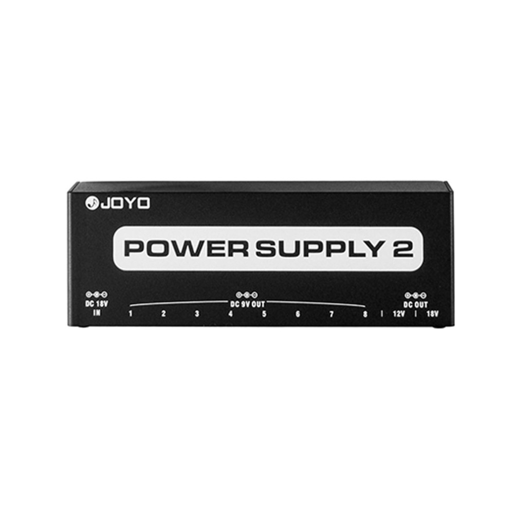JOYO JP-02 Power Supply 2 Guitar Pedal Device With 10 Isolated Outputs & 3 Power Options Guitar Effect Pedals Power Station Hot