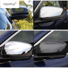 Lapetus Accessories Fit For Renault Kadjar 2016 2017 2018 Door Side Wing Rearview Mirror Case Side Mirror Molding Cover Kit Trim lapetus 2 color for choice accessories for renault kadjar 2016 2017 2018 abs front pillar a triangle molding cover kit trim
