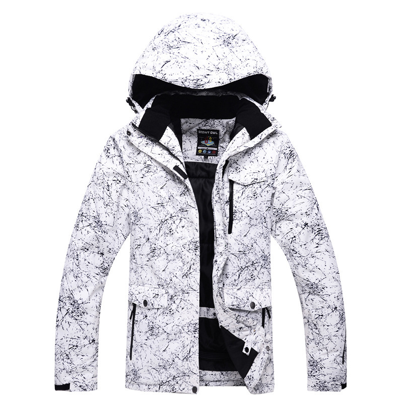 1pc Ourdoor Sports Male Winter Skiing Clothes Snowboard Waterproof Windproof Warm Coat Snow Breathable Mountain Ski Sweather