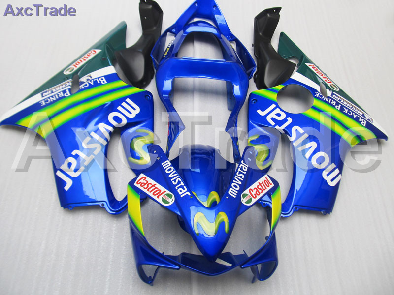 Motorcycle Fairing Kit For Honda CBR600RR CBR600 CBR 600 F4i 2001-2003 01 02 03 Fairings kit High Quality ABS Plastic Blue C172 gray moto fairing kit for honda cbr600rr cbr600 cbr 600 f4i 2001 2003 01 02 03 fairings custom made motorcycle injection molding