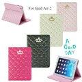 Девушки Любят Sweety Воздуха 2 Смарт Кожа PU case для Apple iPad Air 2 Магнит Tablet case + screen protector + стилус