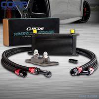 Gplus 19 Row Engine Oil Cooler Relocation Kit For Bmw Mini Cooper S Turbo R56 BK