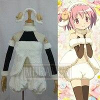 Puella Magi Madoka Magica Kaname Madoka Cosplay Costume full set Custom Made Any Size