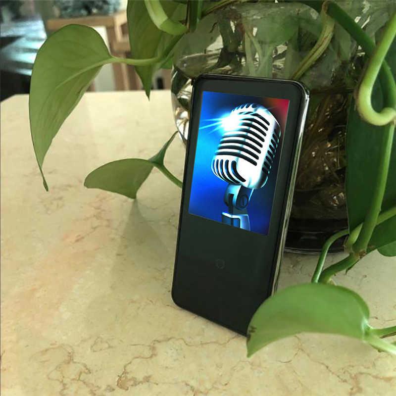 HIPERDEAL Uncscom T810 4 ギガバイト MP3 MP4 プレーヤーウォークマンロスレスレコーダー FM ラジオビデオ映画黒青車 Mp3 プレーヤー ja16