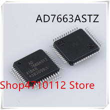 NEW 1PCS/LOT AD7663ASTZ  AD7663 LQFP-48 IC