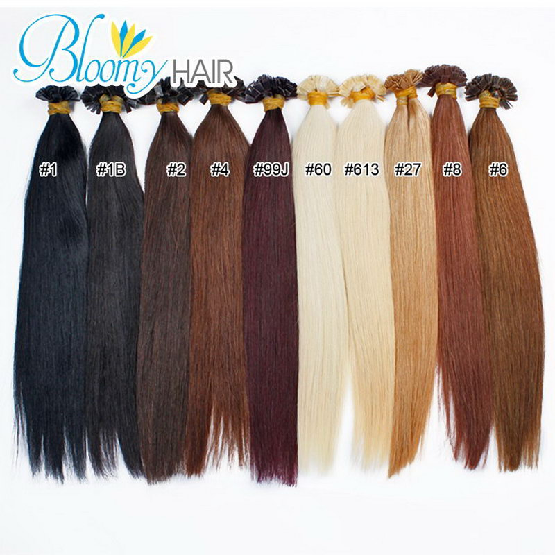 1set i tip hair extensions silk european straight hair 5a elegant 1set i tip hair extensions silk european straight hair 5a elegant hair extension grace pre bonded remy human hair 100pcsset in fusion hair extensions from pmusecretfo Image collections