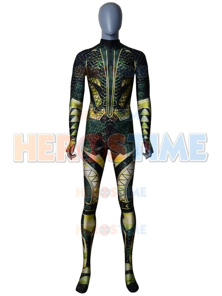Justice League Aquaman 3D Printing Superhero Cosplay Costume anime Aquaman Cosplay Zentai Costume tights adults/kids/customized