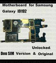 Original Unlocked  For Samsung galaxy S4 mini  i9192 motherboard ,100% working mainboard with software logic system board