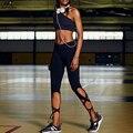 JLZLSHONGLE Caramelo Colores 6 Estilos Sexy Pantalones Capri la Mujer Vendaje Corto Leggings Negro Ropa de Fitness Para Mujeres