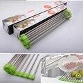 Home Kitchen Dishes Draining Racks Stainless Steel Folding High Temperature Resistance for Fruit Vegitable Chopsticks
