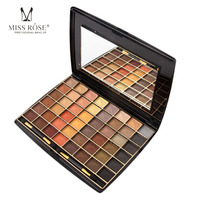 Brand New 48 Colors Miss Rose Cosmetic Eyeshadow Palette Matte Earth Color Eye Shadow Makeup Professional