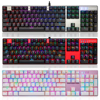 ISHOWTIENDA 11 11 New Arrival Motospeed Inflictor CK104 Mechanical Keyboard Switches Backlit RGB Hot Sell Drop
