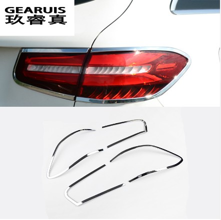 Car after fog lamp frame modified head fog light cover decoration ring For Mercedes Benz GLC Class X253 200 260 300 abs chrome 11pc x canbus no error led interior dome light lamp kit package for mercedes benz glc class x253 glc250 glc300 glc350 2015