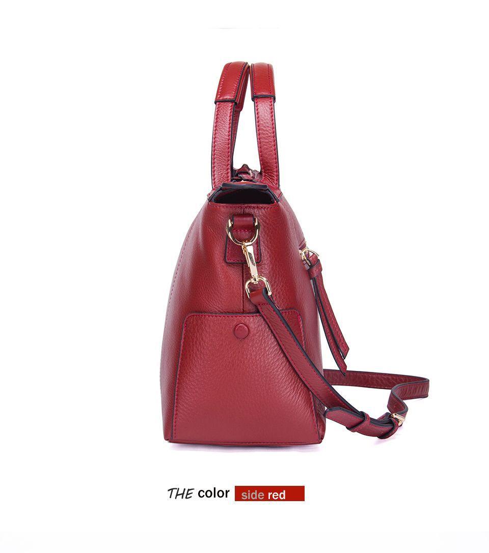 Female Bag Women Handbag Composite Messenger Bag Women Shoulder Bag Lady Genuine Leather Crossbody Bags For Women Cow - 5