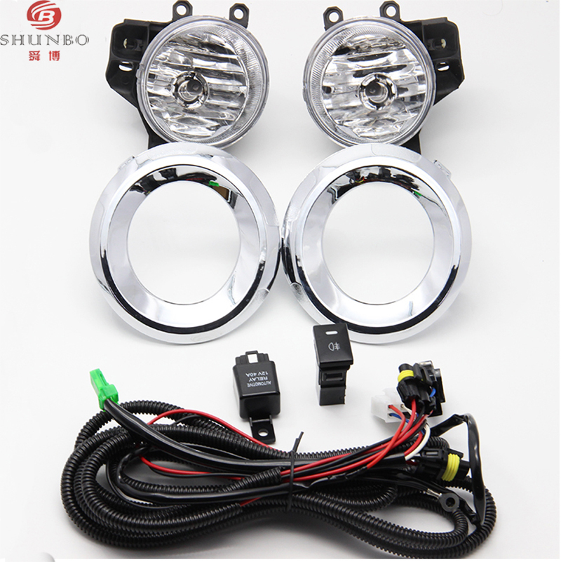2014 2015 Toyota Corolla Fog Light Kit Clear Wiring Kit Switch
