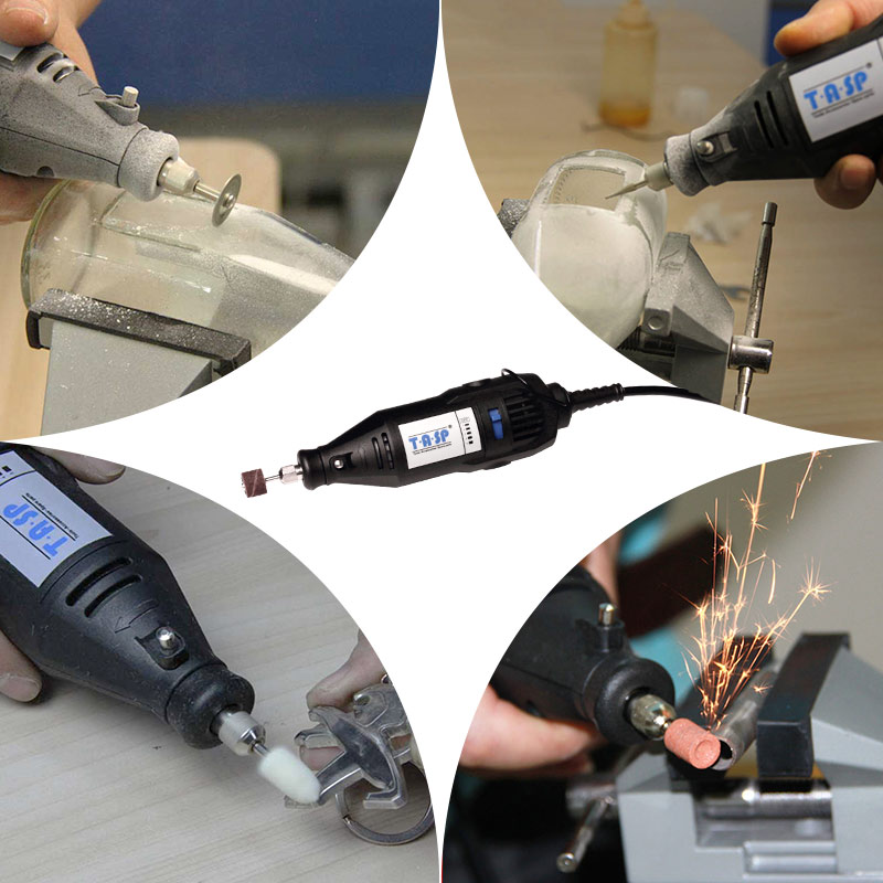Elektrická mini vrtačka TASP 220V 130W, rotační gravírovací - Elektrické nářadí - Fotografie 3