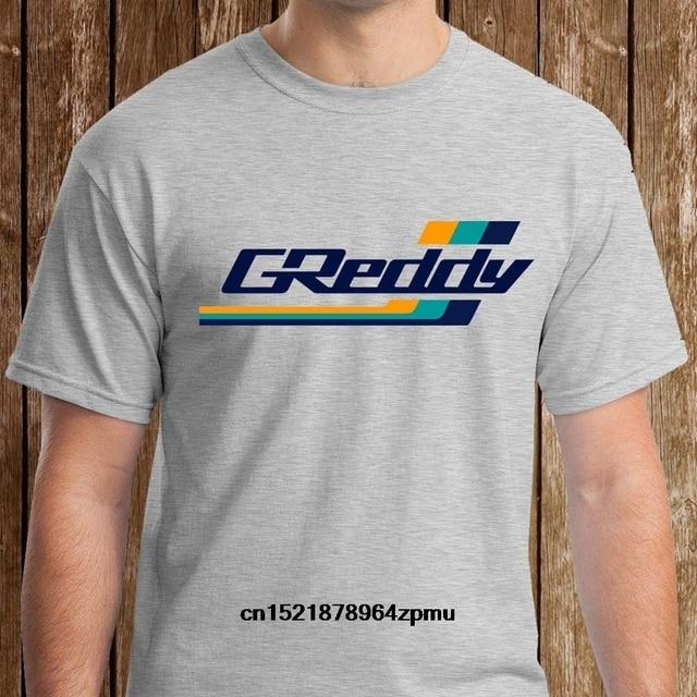 0d1e8a823 Men T shirt Classic GReddy Turbo Systems Logo Grey funny t-shirt novelty  tshirt women