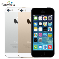 Unlocked Original IPhone 5S With IOS Fingerprint 8MP Camera GPS GPRS Bluetooth WIFI Multi Language LTE