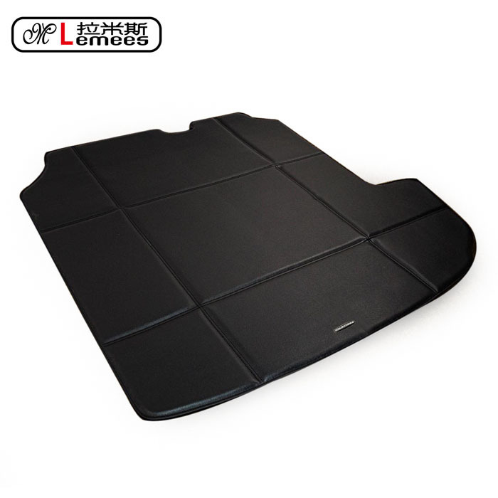 rear special car trunk mat for Peugeot3008 2008301408508 pu leather automotive waterproof non slip easy clean no odor carpets