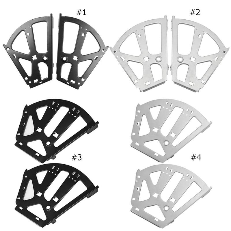 2pcs Iron Shoes Cabinet Hinges Flip Frame Rack Shelf Shoes Cabinet Hinge Movable Turning Rack Over Hardware Fitting Black/Grey 1pair iron shoe rack flip frame 3 layers option black color hidden hinge