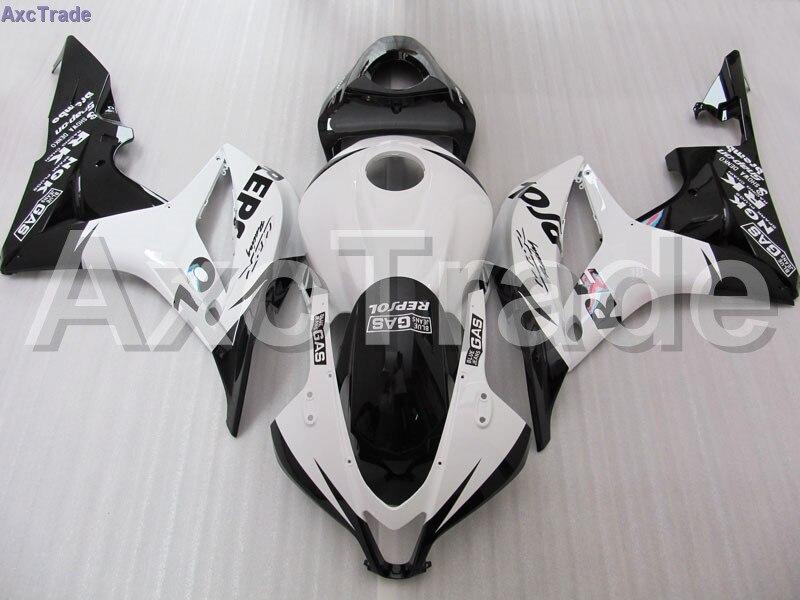 Black Moto Fairing Kit For Honda CBR600RR CBR600 CBR 600 RR 2007 2008 F5 Fairings Custom Made Motorcycle Injection Molding C98 custom injection factory motorcycle fairings parts for 2005 2006 honda f5 cbr 600 rr cbr600rr 05 06 white repsol fairing bodyits