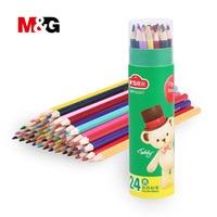 M G Colored Pencils Painting Drawing Pencils Lapis De Cor Lapis Escolar Coloring Stationery Pencil Set