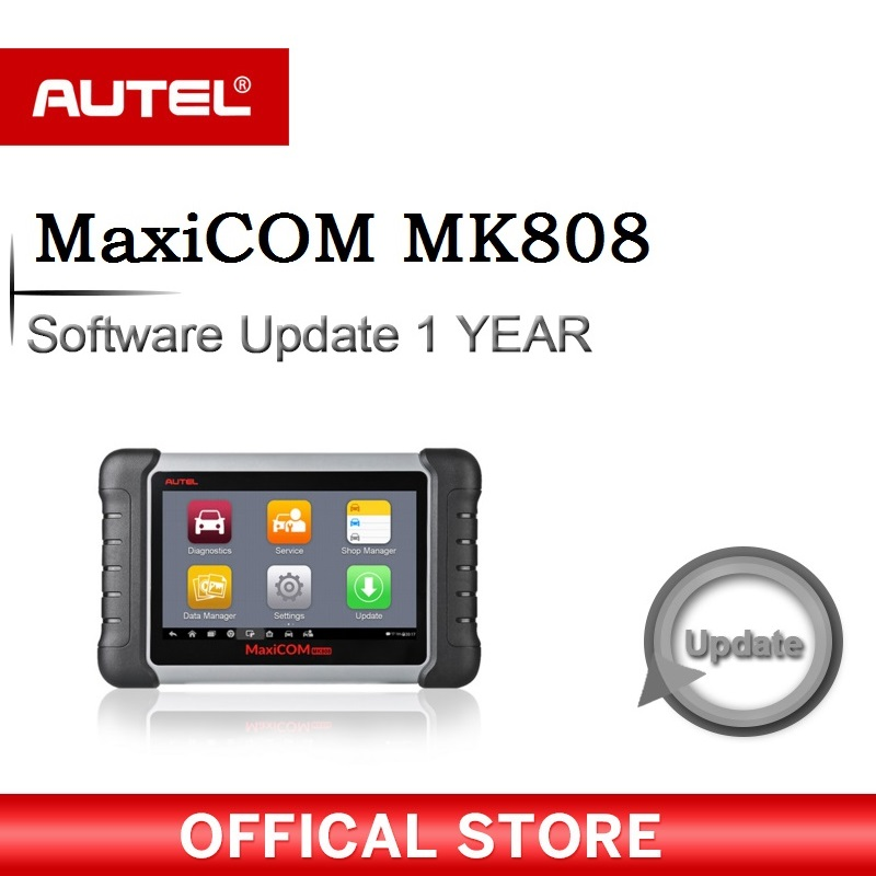 Software for diagnostic tool Autel MK808 MX808 OBDII 2 scanner 1 Year Update Service
