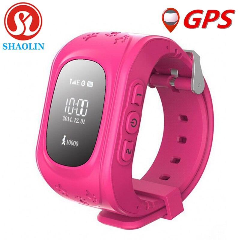 imágenes para Más nuevos niños reloj gps q50 smart watch con sos clave anti-perdida para el iphone apple android teléfono smartwatch reloj inteligente