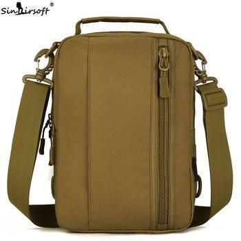 SINAIRSOFT Военный Тактический Рюкзак Molle через плечо нейлон 10 дюймов планшет Рюкзаки Кемпинг Охота Рыбалка Спортивная Сумка