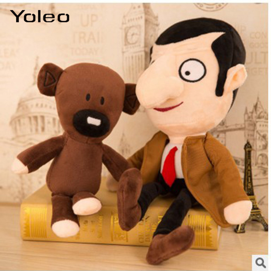 Mr Bean Teddy Bear Plush Toys Movie Mr.Bean Cute Toys  1