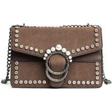 6a2c582e7911 New Luxury brand bag women messenger bags Small Pearl cross body Retro  Suede chains shoulder bags fashion handbag Travel Clutch