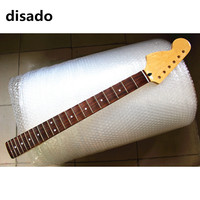 disado 22 Frets big reverse headstock maple Electric Guitar Neck rosewood scallop fretboard glossy paint guitar accessories