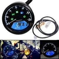 Motorcycle Lcd Backlight Digital 3 Cylinder Tachometer Motorcycle Digital Tachometer Can Be Visibled At Night
