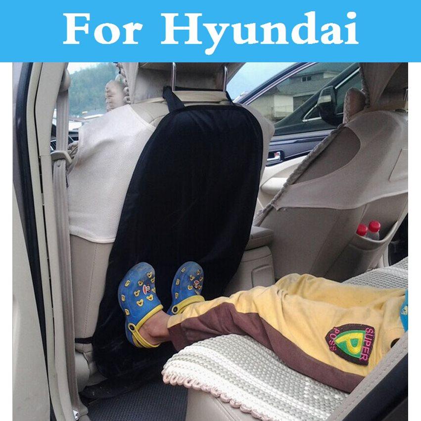 Seat Back Protector Children Kick Pad Anti Abrasion Nursing Cover For Hyundai Tucson Terracan Tiburon Santa Fe Solaris Sonata