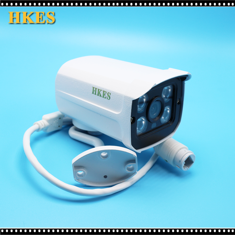 Hkes Wired Audio Ip Camera Outdoor 2 0mp Megapixel Hd Cctv