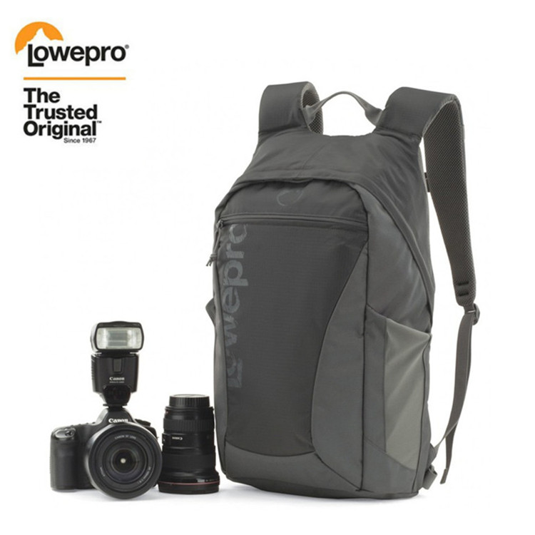 Fast shipping NEW Lowepro Photo Hatchback 22L AW shoulders camera bag Anti theft package knapsack Weather