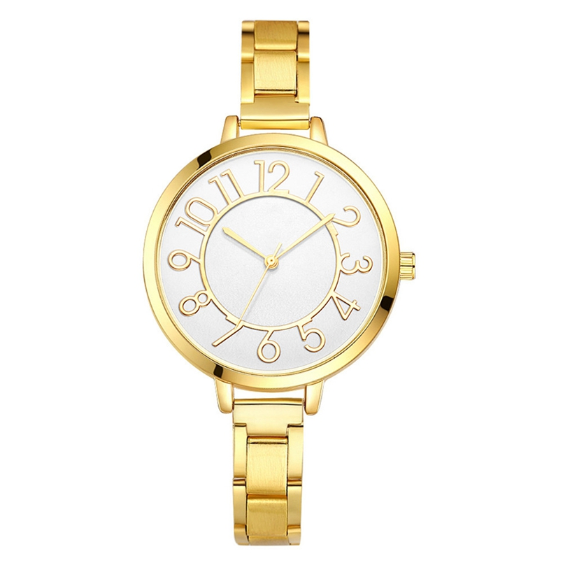 New Arrive Gold Watch Women Watches Famous Brands Relogio Feminino 2017 Rhinestone Quartz Dress Ladies Mesh Wrist Clock s26