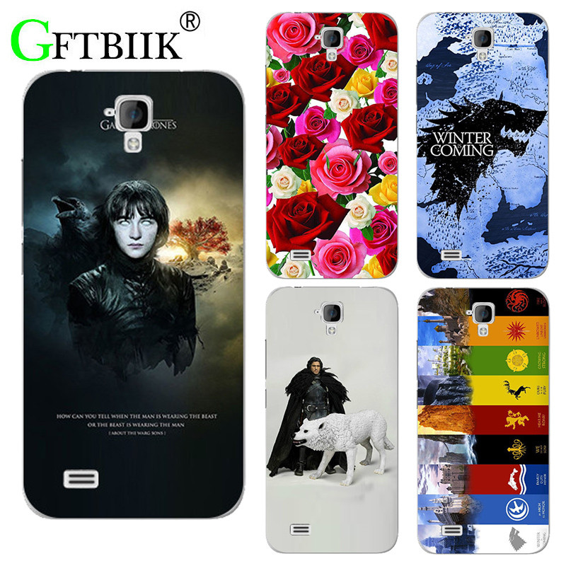 For Game Of Thrones 7 Case For Huawei Y560 Y5 Y560 L01 Cover Hard Plastic Printed Phone Back