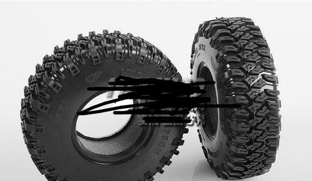2x Mickey Thompson 1.9  MTZ Tires Cralwer Truck G2 D90/D110 RCW4D AXIAL WRANGLER SCX10 TF2 hRAXXAS TRX4 CAPO JKMAX TAMIYA FJ