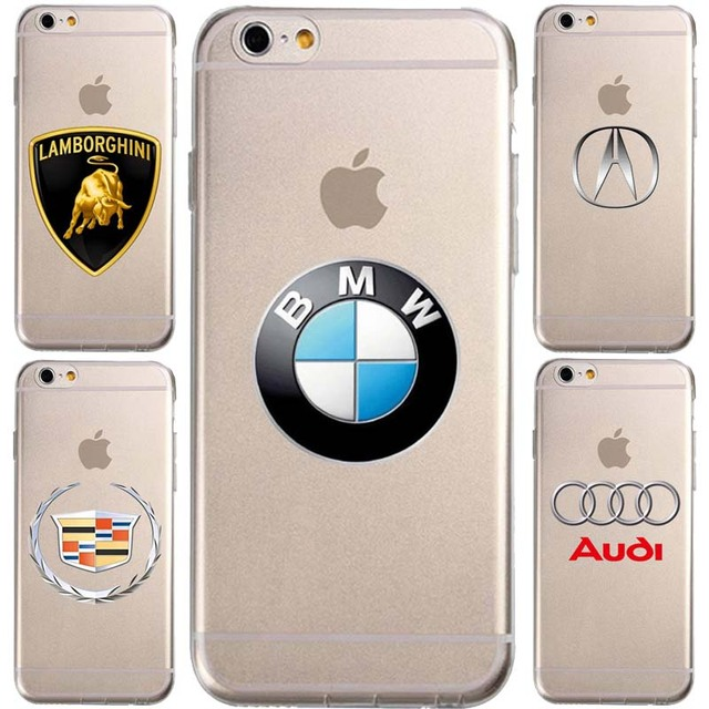 BMW Honda audi cadillac car Logos  For IPhone 7 7 plus 6 6S Plus