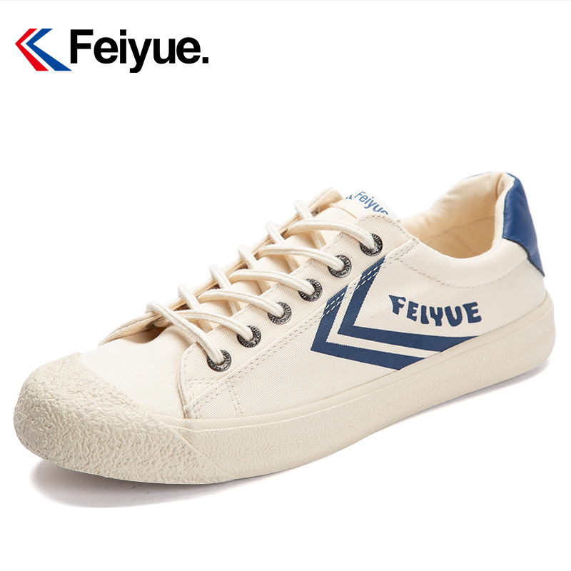 Feiyue American Casual Wear Shoes New Classic Martial Arts Tai Chi Canvas Rubber Shoes Men Women Soft Comfortable Sneakers