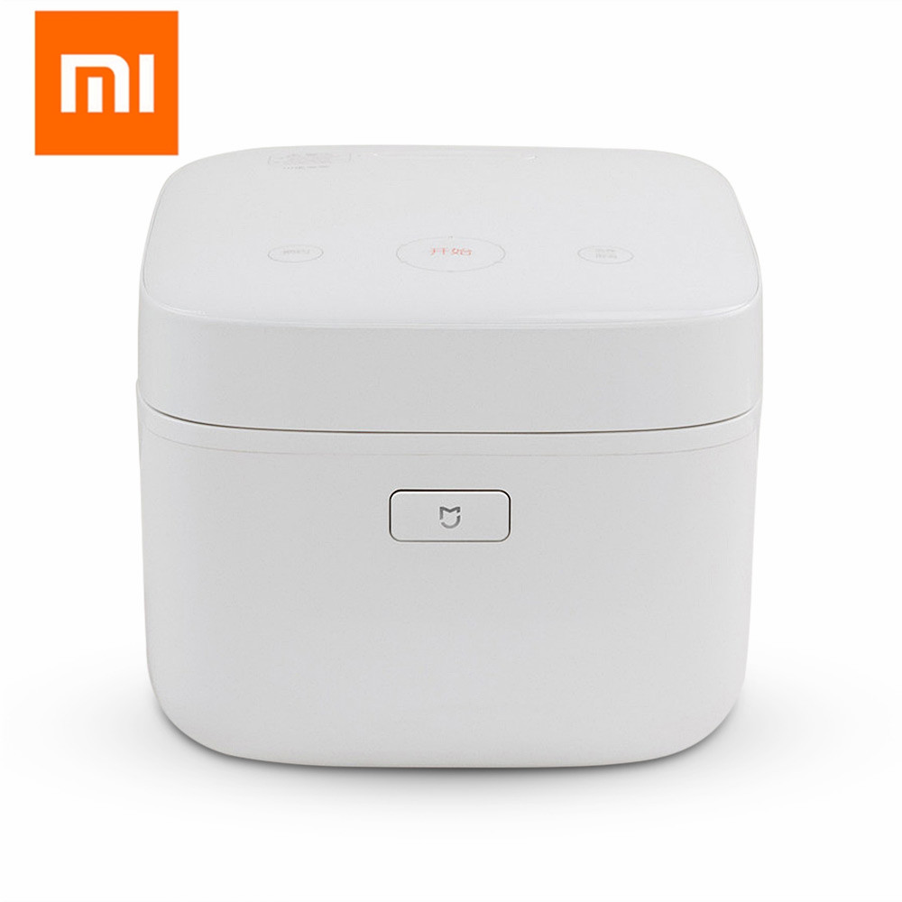 Xiaomi Mijia Mi IH Smart Electric Rice Cooker 3L Alloy Cast Iron IH Heating Pressure Cooker APP Remote Control Home Appliances midea original intelligent pressure ih rice cooker white 3l capacity mb wfs3099xm