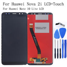 5.9 Original LCD Display For Huawei Nova 2i monitor + Touch Screen Digitizer Kit Mate 10 lite display repair kit