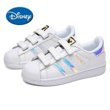 Disney Kids Shoes Genuine New Comfortable Ventilated Childrens Sports Non-slip Wear Sneakers#1003