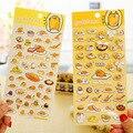 1 x cartoon Gudetama etiqueta engomada de papel DIY decoración pegatina para el álbum scrapbooking diario kawaii papelería